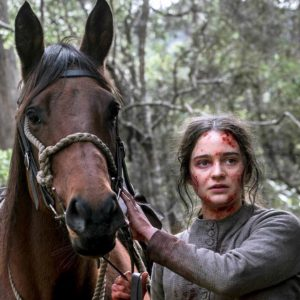 Scene from the 2018 movie The Nightingale