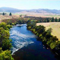 Luxury Experience near Hobart kayaking down the Derwent
